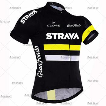 Koszulka kolarska STRAVA koszulka MTB 2021 koszulka rowerowa koszulki kolarskie męskie koszulki z krótkim rękawem odzież rowerowa letnia Premium tanie i dobre opinie CN (pochodzenie) POLIESTER SHORT CM-DY-256 summer Zamek na całej długości Pasuje na mniejsze stopy niezwykle Proszę sprawdzić informacje o rozmiarach ze sklepu