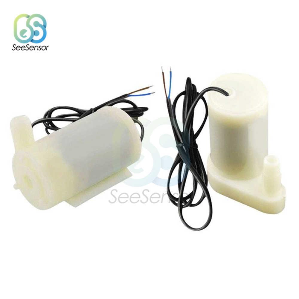 マイクロ水中 Dc モータポンプ水ポンプ低ノイズブラシレスモータポンプ 2.5-6V 80-120L/H