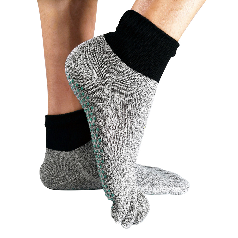 Unisex Anti Cut Multi Purpose Running HPPE Outdoor Non Slip Short Protective 5 Toe Sports Socks Travel Beach Wear Resistant Soft