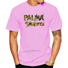 Fashion Men Palma De Mallorca - white Tees shirts top Spain design T-shirt logo brand tee cotton clothes T shirt
