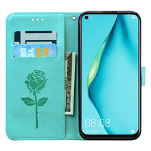 Huawei P40 Lite Case high quality Leather Flip Case For Funda Huawei P 40 Lite Phone Case Huawei P40 P40 Pro P40 Lite Cover