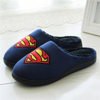 Women's slippers Indoor shoes Superstar Plus size 41-45 Female slipper Plush Winter Suede Home slippers for woman House