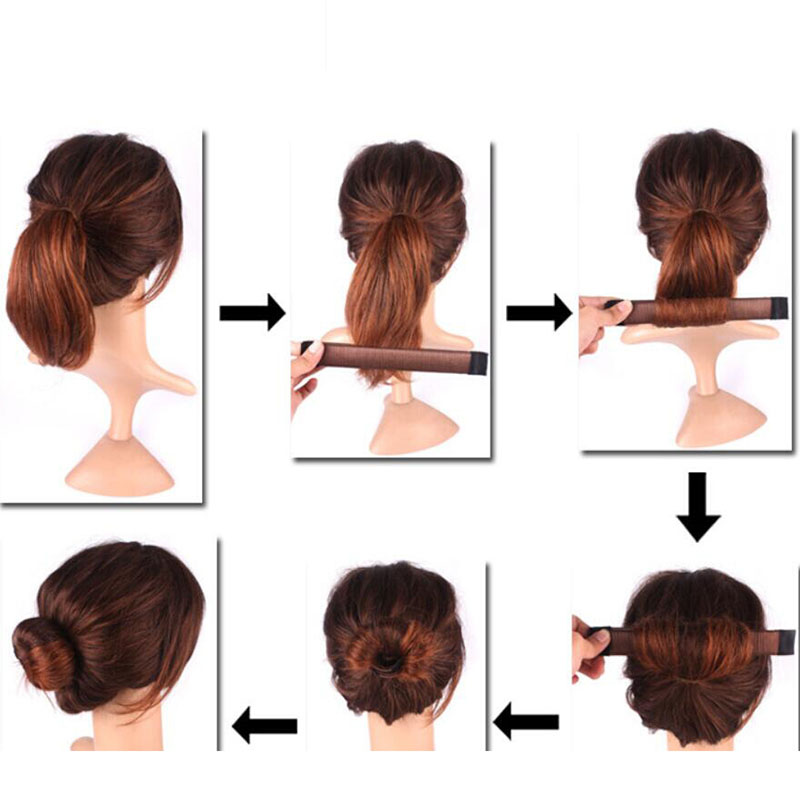 Girls-Wig-Donut-Headband-DIY-Easy-Bun-Makers-Hair-Braiders-Magic-Styling-Hair-Tools-Chignon-Magique (5)