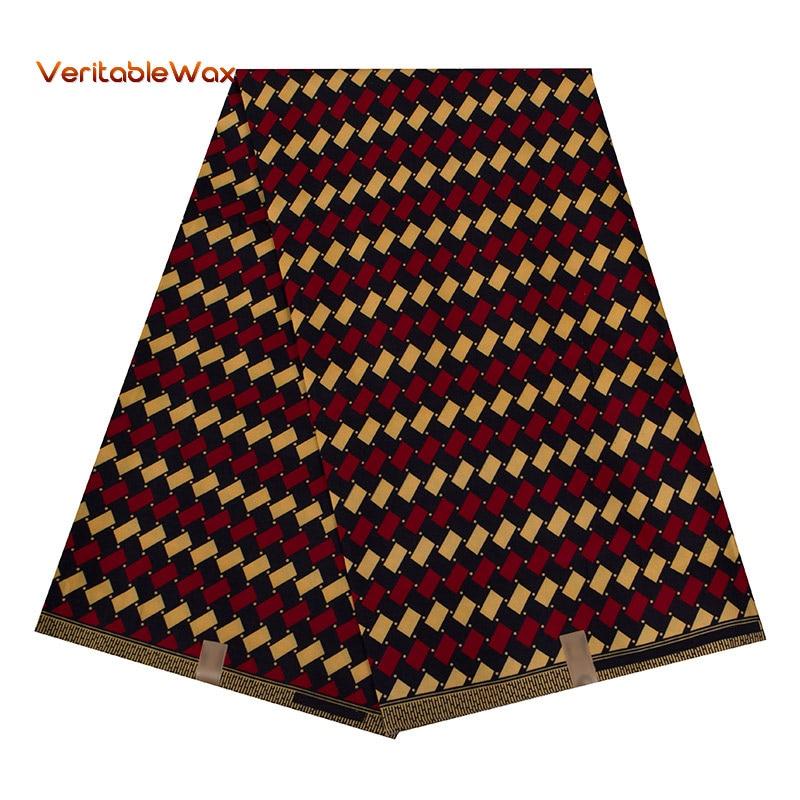 Купить 2020 африканская ткань восковые принты veritablewax полиэстер