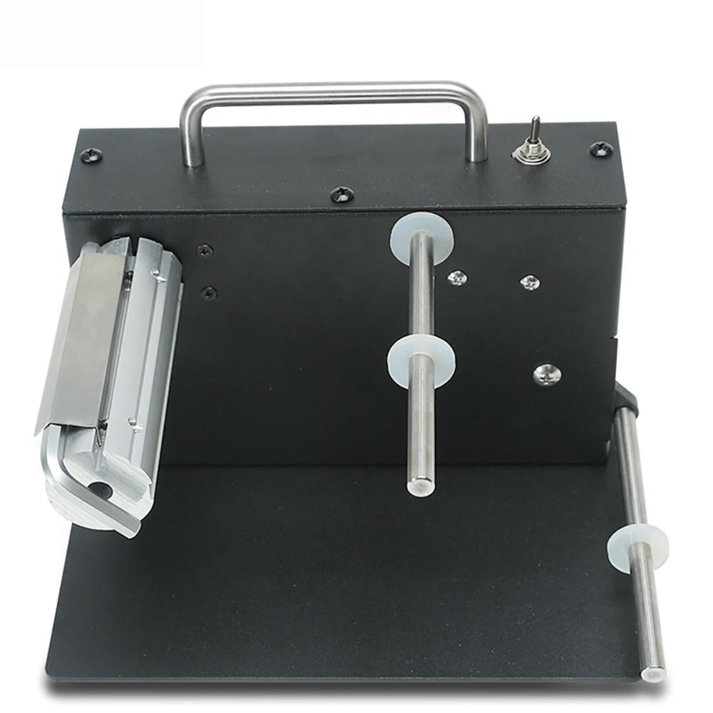 AC 100-240V Automatic Label Rewinder Bar Code Tags Two-way Rewinding Machine 180MM Y