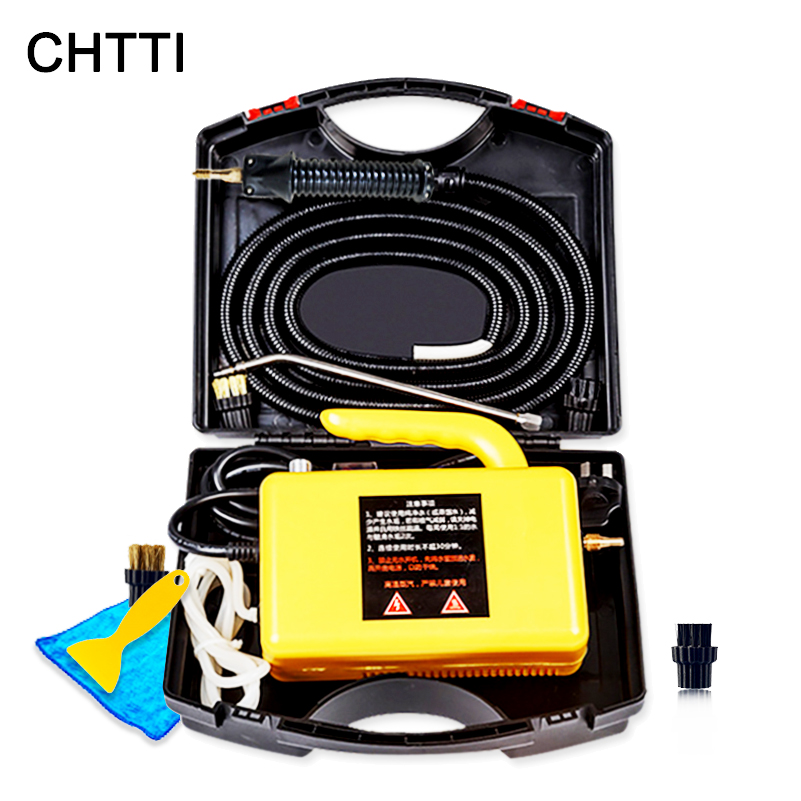 CHTTI Steam Cleaner High Pressure Washer High Temperature Steamer Machine Generator Mobile Auto Pump Sterilization Disinfector