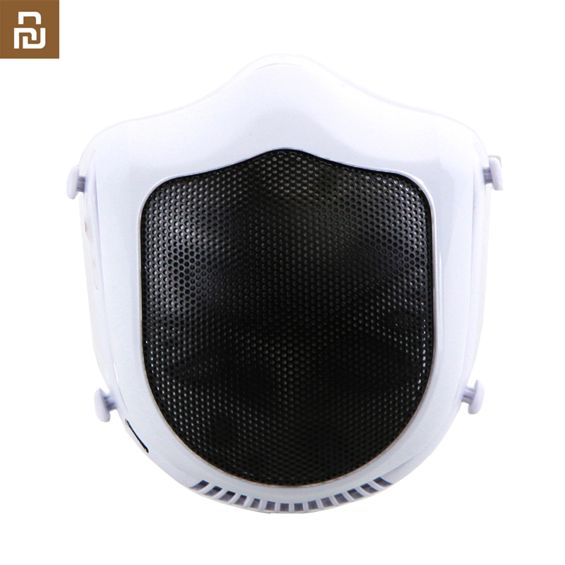 From Youpin Q5S Electric Anti-haze Sterilizing Mask Provides Active Air Supply Electric Mask For Autumn Winter Fog
