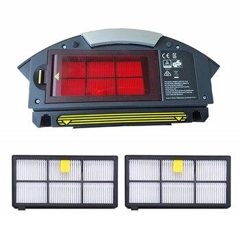 Alta calidad polvo Bin filtro IRobot Roomba 800 de 900 de la serie 870 de 860, 880, 885, 960, 980 de herramienta partes