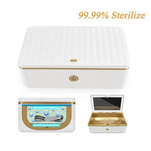 UV Sterilizer Box with Ozone LED Light Disinfection Cleaning Device Germicidal light for Watch Phone Mask Sanitizer