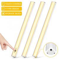 3pcs 100 240V Cabinet Light Under Cabinet Lights LED Night Light Tube Replacemnt Warm White for Wardrobe Indoor Lamp