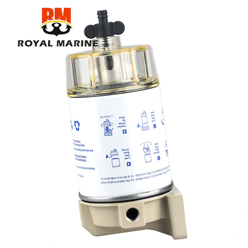 цены S3227 Fuel Filter Fuel Water Separator Assembly for Outboard Marine Engine Marine Boat Filter for yacht Motorboat Fuel pump