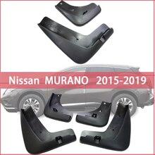 Mud Flaps For Nissan MURANO 2015-2019 Front Rear Fender Splash Guards Car Accessories mudguard Mud flap mud splash mud flaps splash guards front for nissan pathfinder 2010 2014 standard