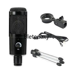 Image 4 - Micrófono de condensador USB para Mac, portátil y ordenador para grabación en Streaming, transmisión de voz, para Youtube, Skype