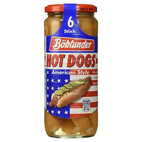 Böklunder 6 HOT DOGS 550g