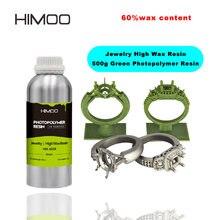 Alta resistência da cera de himoo para a resina de limpeza da impressora 3d nova3d mais alta resina fotossensível da cera