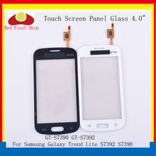 10Pcs/lot For Samsung Galaxy Trend Lite S7392 S7390 GT-S7390 GT-S7392 Touch Screen Digitizer Panel Sensor S 7390 7392 LCD Glass