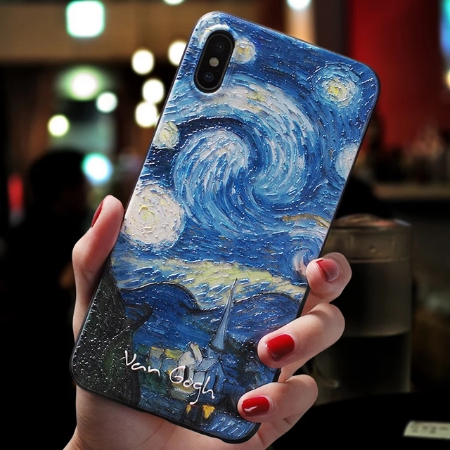 Beautiful Art Back Silicon Case For Apple iPhone