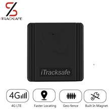 iTracksafe Waterproof 2G 3G 4G lte car locator portable magnet long battery GPS Tracker for auto with listening tracking device