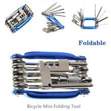 Narzędzia do rowerów rowerowych zestaw naprawczy narzędzie do naprawy rowerów zestaw klucz śrubokręt łańcuch stal węglowa rower narzędzie wielofunkcyjne