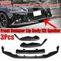 GS350 450 Carbon Look Auto Front Lip Splitter Spoiler Diffusor Für Lexus GS350 450 F Sport 4Dr Modell 2013 2014 2015
