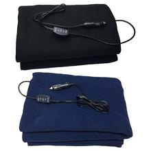 12V Heating Function Car Heating Blanket Large Size 145*100 Electric Blanket Car Styling