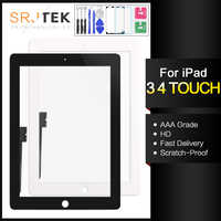 For iPad4 Touch Screen iPad 3 4 Screen iPad3 Digitizer Replacement Touchscreen Glass Panel Free Frame Bezel A1430