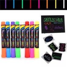 8 colors white board maker pen whiteboard marker liquid chalk