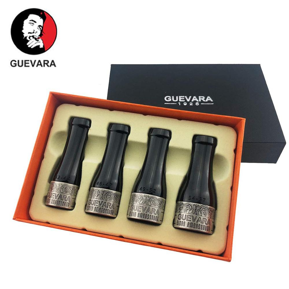 Guevara Cigar Filter Holder Mouthpiece Portable Set For Men And Women Short Cigar Holder With Gift Box