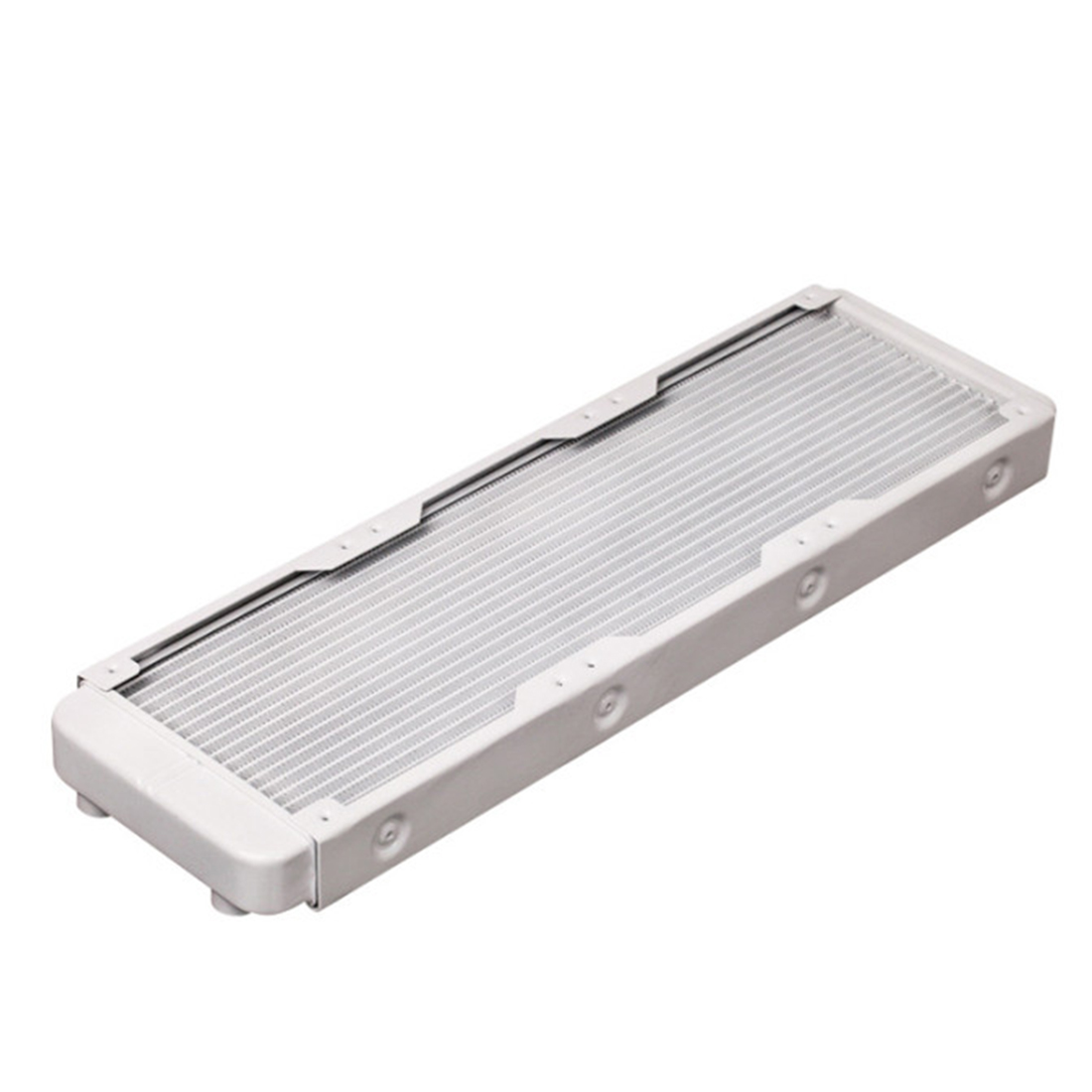 360mm Aluminum Computer Radiator Water Cooler Cooling Heatsink Exchanger Water Cool System For Computer - White/Black