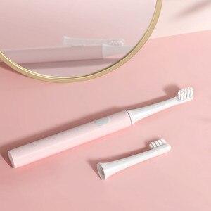 Image 3 - Xiaomi mijia T100 звуковая электрическая зубная щетка для взрослых Водонепроницаемая ультра звуковая автоматическая зубная щетка USB перезаряжаемая