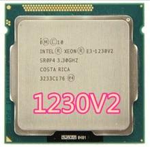 Intel Xeon E3 1230 V2  e3 1230 V2  3.3GHz SR0P4 8M  Quad Core LGA 1155 CPU E3 1230 V2 Processor free shipping