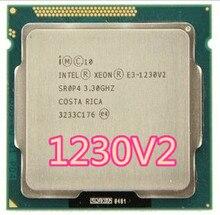 Intel Xeon E3 1230 V2 e3 1230 V2 3.3GHz SR0P4 8M czterordzeniowy LGA 1155 CPU E3 1230 V2 procesor darmowa wysyłka