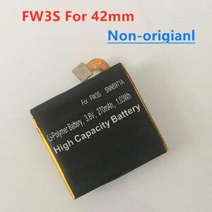 Image 2 - 360 2nd Gen pil Motorola Moto 360 2nd Gen 2015 42mm FW3S 270mAh akıllı izle 360S / FW3L 375mAh 2nd Gen 46mm pil