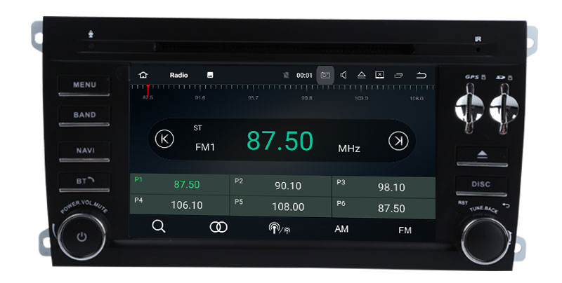 Best Android 9.0 Octa Core  Car DVD Player Stereo System For Porsche Cayenne With Canbus Wifi GPS Navigation Radio Carplay 8