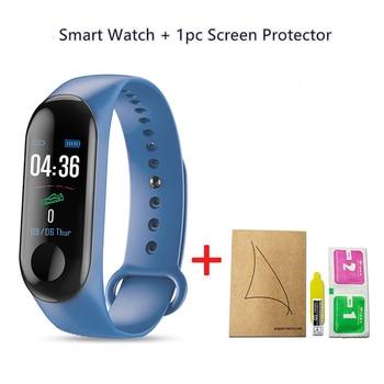 M3 Plus Smart Bracelet Heart Rate Blood Pressure Health Waterproof Smart Watch M3 Pro Bluetooth Watch Wristband Fitness Tracker 16