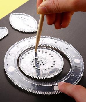 Spirographe kit pour dessins géométriques
