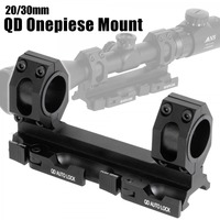 Tactical QD Auto Lock Scope Mount Bases 25mm 30mm Rings Rifle Airgun Airsoft Picatinny Weaver Rail 20mm Hunting Accessories