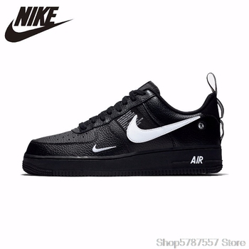 Nike Air Force 1 Original Leather Men's Skateboarding Shoes Comfortable Outdoor Sports Sneakers #AJ7747 nike new arrival air force 1'07 af1 breathable utility men running shoes low comfortable sneakers aj7747