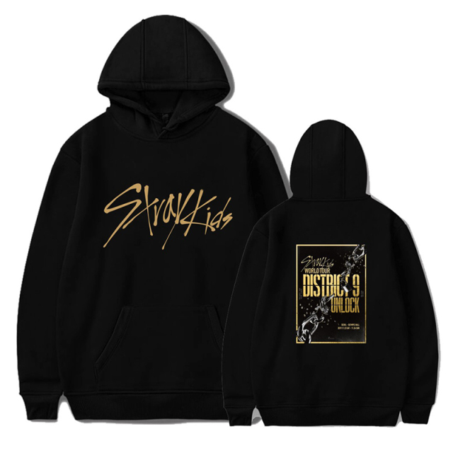 STRAY KIDS WORLD TOUR HOODIE (4 VARIAN)