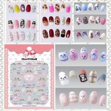 Hanyi104-112 ультра-тонкий Иисуса благословенная девственная Мария 3D наклейки для ногтей с резинки для ногтей Стикеры украшения для маникюра