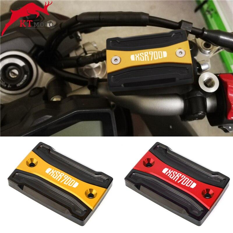 Front Rear Brake Fluid Reservoir Cover Cap For YAMAHA XSR 700 900 XSR700 XSR900