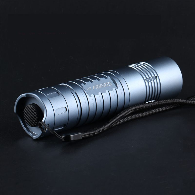 Convoy S11 XHP50.2 2400lm 18650 Powerful Flashlight 26650 Flashlight For Outdoor Tactical Flashlight Mini Torch Portable Lantern
