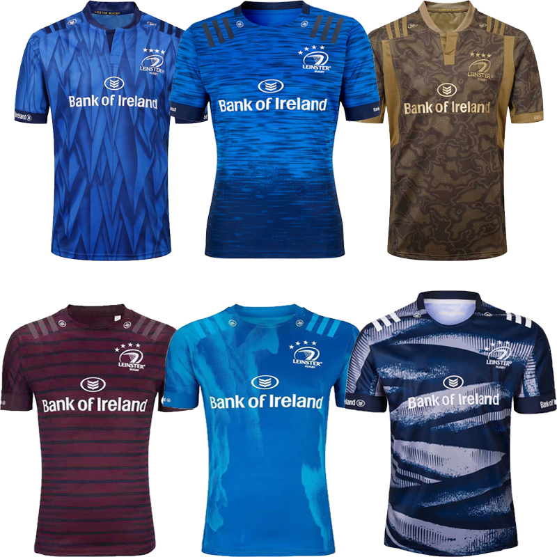 2021 irlanda leinster rugby casa fora de treinamento camisa esportiva masculina S-5XL