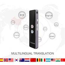 Translaty Smart мгновенный в реальном времени голосовой многоязычный переводчик портативный Bluetooth беспроводной голосовой переводчик