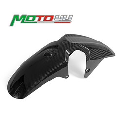 Real Carbon Fiber Front Fender Mudguard Hugger 100% Twill Motorcycle Accessories For YAMAHA MT-07 MT07 MT 07 2018 2019 2020