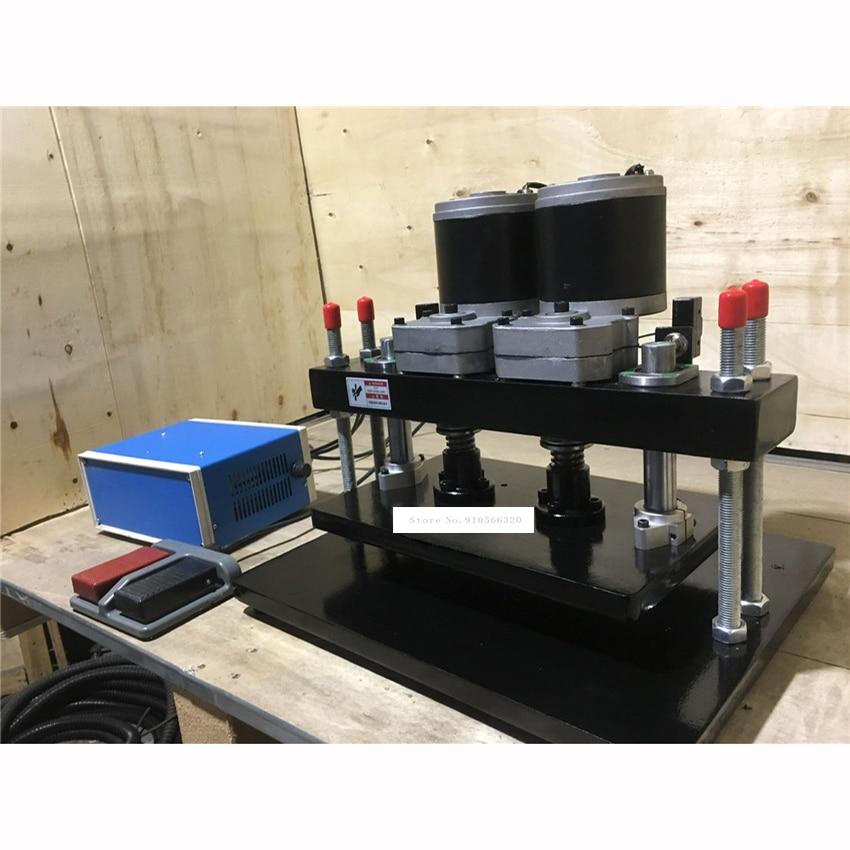 Leather Press Machine Steel Electric Die Cutting Flattening Machine Small Die Cutter Punching Pressure Cutting Tool-0