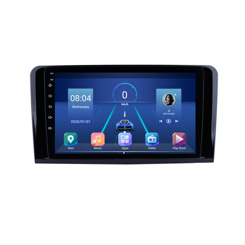 Android 10.1 için Mercedes Benz ML GL W164 ML350 ML500 GL320 X164 ML280 GL350 GL450 araba GPS radyo stereo navigasyon yok DVD
