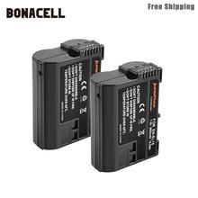 Bonacell 2800 мА/ч, EN-EL15 ENEL15 RU EL15 Камера Батарея для цифровых зеркальных фотокамер Nikon D600 D610 D800 D800E D810 D7000 D7100 D7200 L50