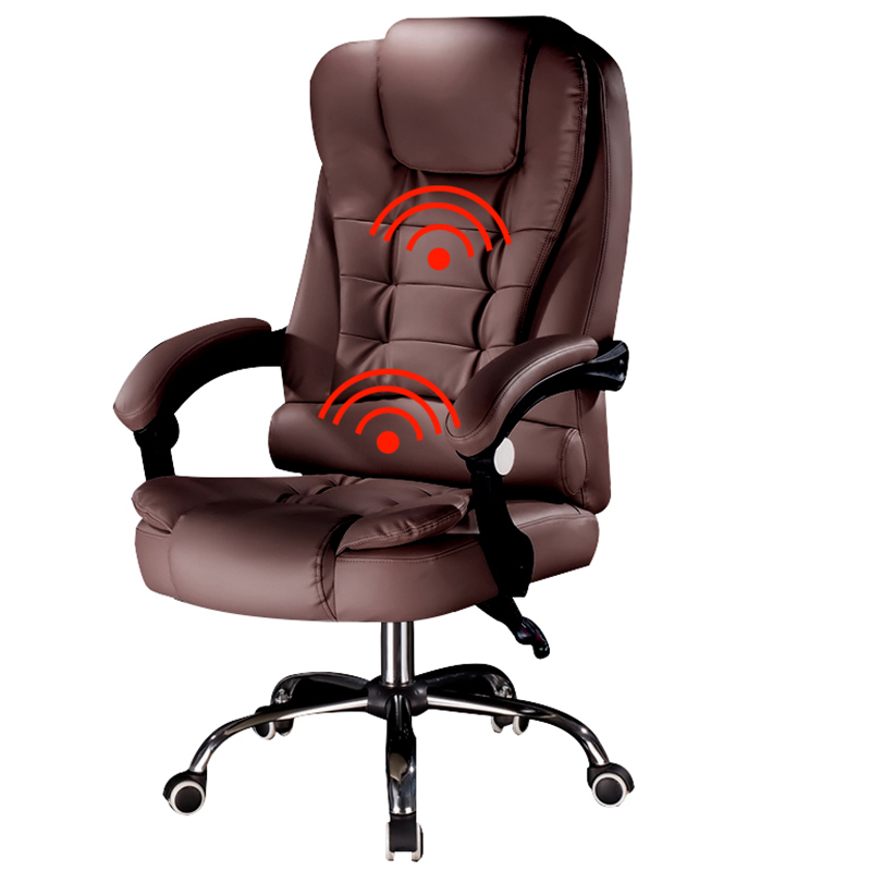 High quality office chair, computer chair, ergonomic chair with footstool