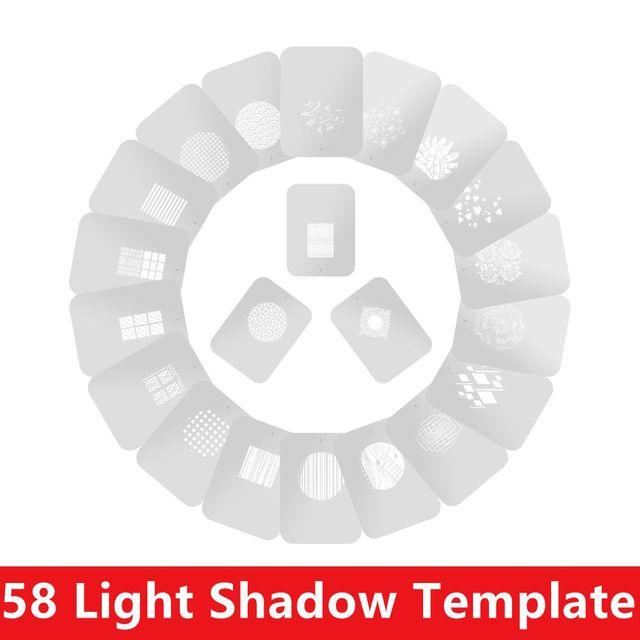 58 style condenser tube projection graphic DIY light tube shape insert OT1 OT1PRO condenser lens background light effect film